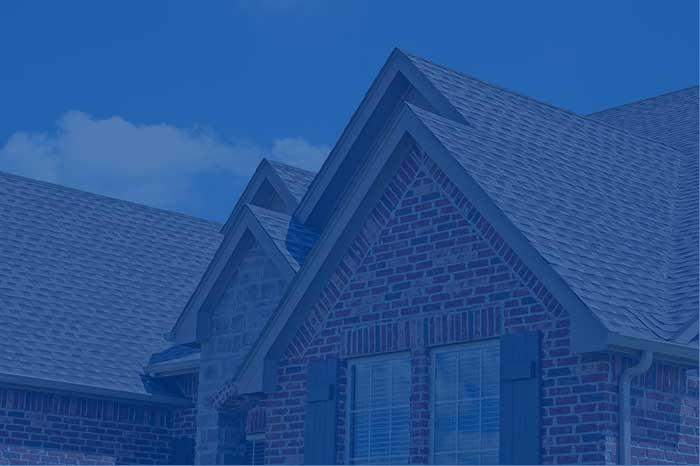 pitched shingle roof installation